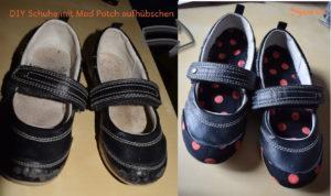 Stoff Schuhe Art Potch