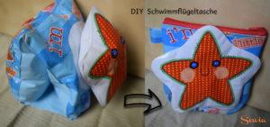 DIY Tasche aus Schwimmflügeln